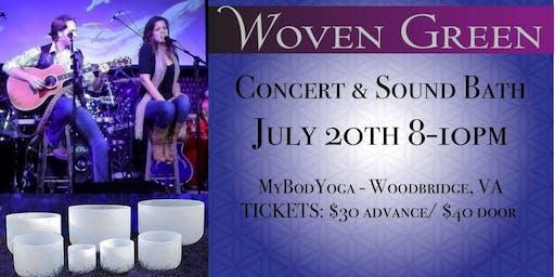 Woven Green Concert & Sound Bath