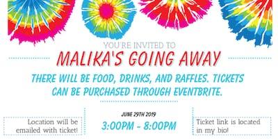 Malika's Going Away Party
