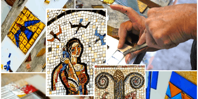 Edgar Miller Designs  |  2-Part Glass-tile Mosaic Workshop Series