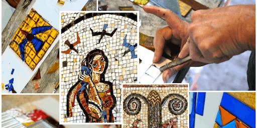 Edgar Miller Design Workshops   |  Stained Glass Mosaic Workshop