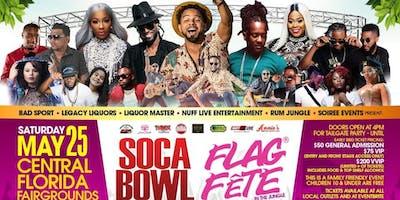 One Big Fete - Flag Fete In The Jungle & Soca Bowl