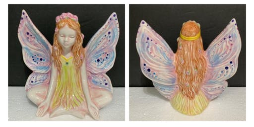 Paint-Your-Own Lotus Fairy