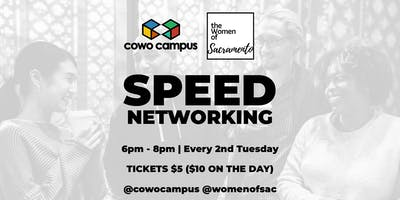Speed Networking with Cowo Campus & Women Of Sac | Let's Network!