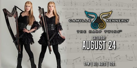"""The Harp Twins """" Camille & Kennerly"""" tickets"""
