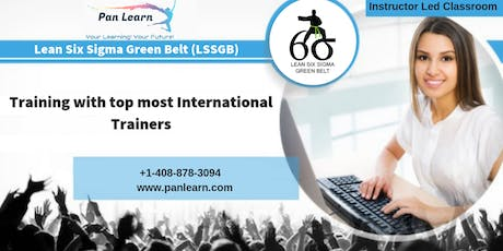 Lean Six Sigma Green Belt (LSSGB) Classroom Training In Vancouver, BC tickets