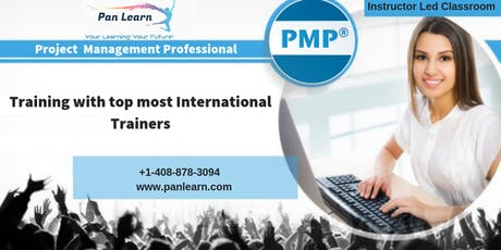PMP (Project Management Professionals) Classroom Training In Edmonton, AB tickets