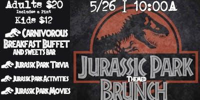 Jurassic Park themed Brunch