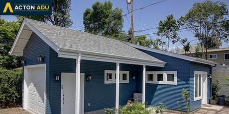 Building an ADU: Getting started on a backyard home (10.19.2019) tickets