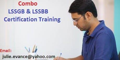 Combo Six Sigma Green Belt (LSSGB) and Black Belt (LSSBB) Classroom Training In Hanford, CA tickets