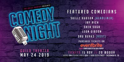 Comedy Night At The Guild Theater