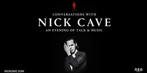 Conversations with Nick Cave: A Night of Talk and Music