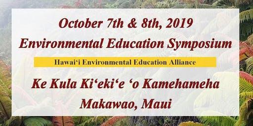 2019 Environmental Education Symposium - Strengthening our sense of Hawaiʻi