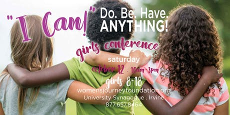 "13th annual Girls ""I CAN"" Self-Esteem Conference tickets"