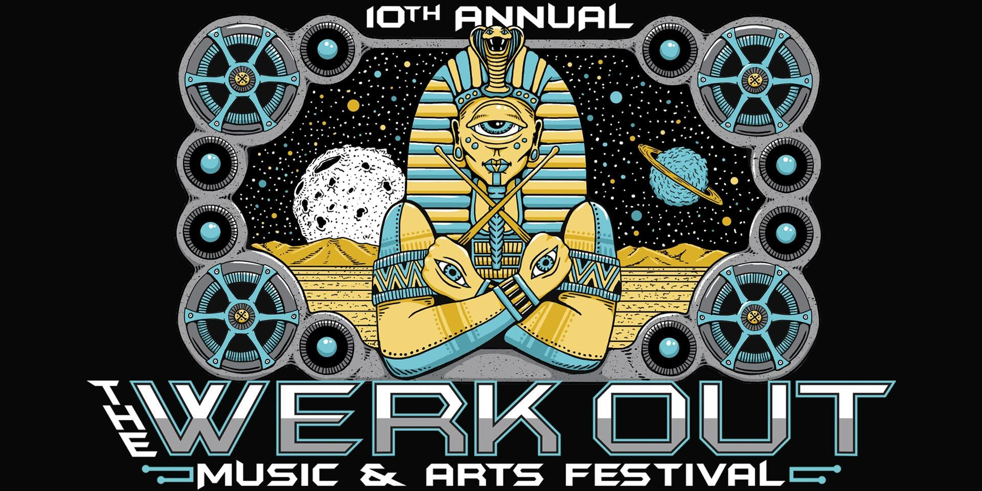The Werk Out Music and Arts Festival – Thornville – Aug 2   edmtrain
