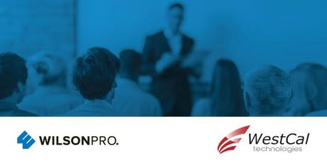 WilsonPro Certified Installer Training (June 20th) - WESTCAL TECHNOLOGIES tickets