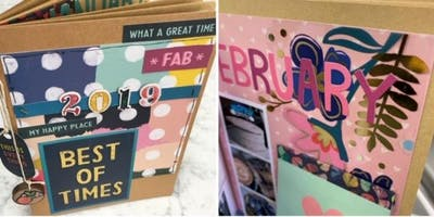 Year in Review Photo Book Making Class w/Michelle 5/19/2019