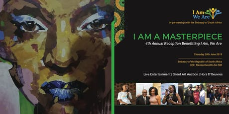 I Am A Masterpiece: Benefit Cocktail Reception tickets