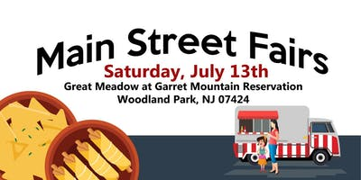 July13th - Garret Mountain Reservation Food Truck and Music Festival
