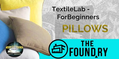 Sew a Pillow in the Textile Lab at The Foundry
