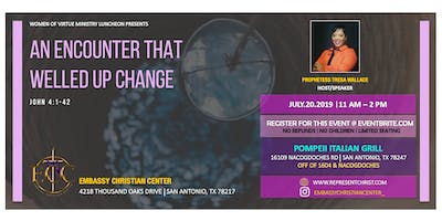 Women of Virtue Ministry Luncheon: An Encounter that Welled Up Change