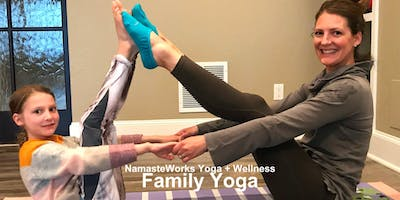 Family Yoga - Transition into Summer at NamasteWorksKids©