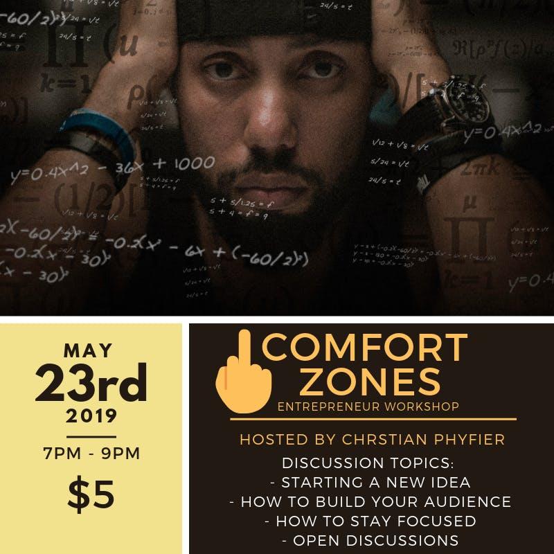 F Comfort Zones (Entrepreneur Workshop w/ Christian Phyfier)