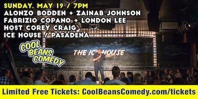 FREE! Alonzo Bodden, Zainab Johnson - Cool Beans Comedy!