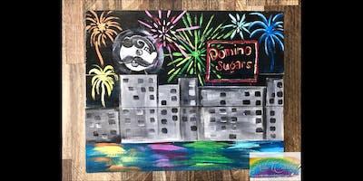 Baltimore Fireworks: Dundalk, Seasoned Mariner with Artist Katie Detrich!