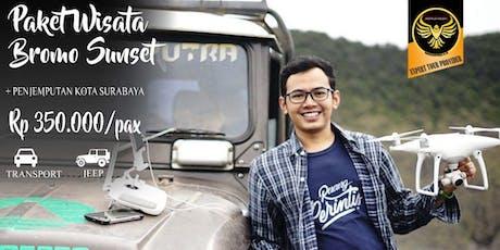 Paket Wisata Bromo Sunset Dari Surabaya tickets
