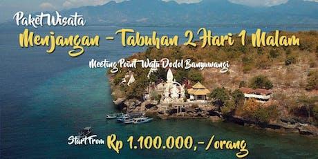 Paket Wisata Menjangan Tabuhan 2 Hari 1 Malam tickets