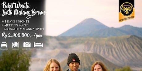 Paket Wisata Batu Malang Bromo 5 Hari 4 Malam tickets