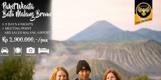 Paket Wisata Batu Malang Bromo 5 Hari 4 Malam