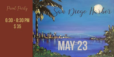 San Diego Harbor - Paint Nite