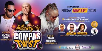 """Compas Twist in Port Saint Lucie """" Olivier, Alain , Antouraj la """" 05/31/19"""