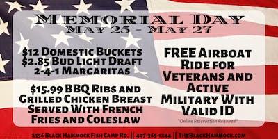 Memorial Weekend At The Black Hammock