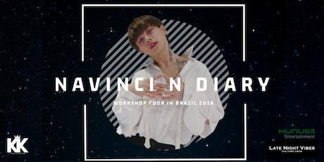 Recife - NAVINCI N Diary Workshop Tour in Brasil 2019 ingressos