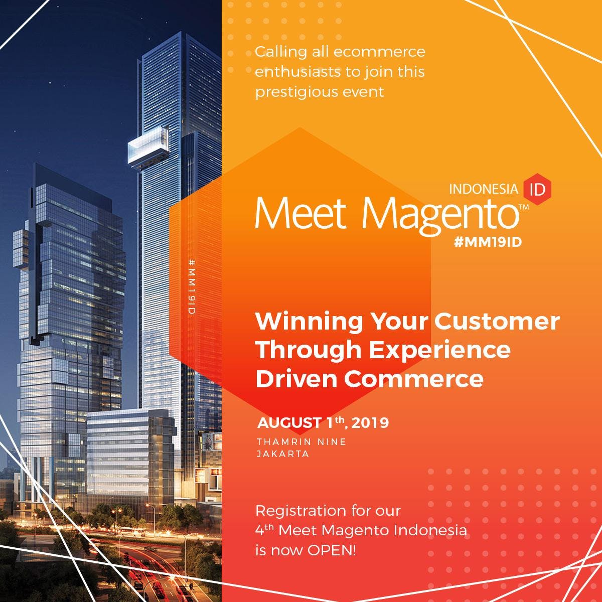 Meet Magento Indonesia 2019 - Leading eCommerce Conference in Jakarta