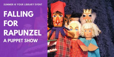 Falling for Rapunzel: A Puppet Show at Penryn Library