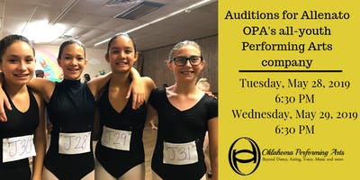 OPA Allenato Placement Auditions