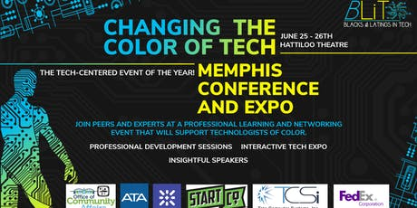 Changing the Color of Tech Memphis Conference tickets