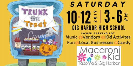 3rd Annual Macaroni Kid Community-Wide Trunk or Treat