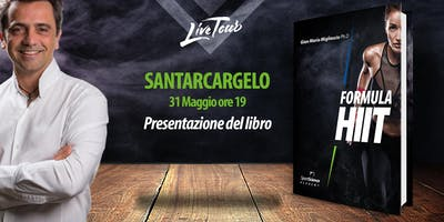SANTARCANGELO | Presentazione libro Formula HIIT