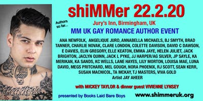 shiMMer 2020 MM UK Author Event