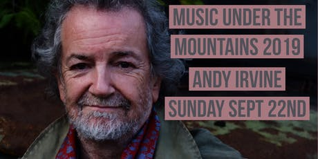 Andy Irvine - MUTM 2019 tickets