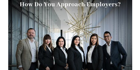 How Do You Approach Employers for an Interview and a Job? tickets