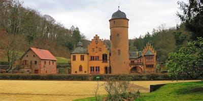 """Sa,29.06.19 Wanderdate """"Märchenschloss Mespelbrunn und sagenumwobener Echterspfahl für 40-55"""""""