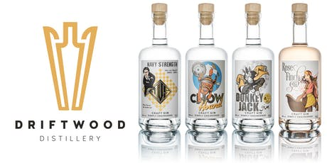 Driftwood Distillery Gin Tasting tickets