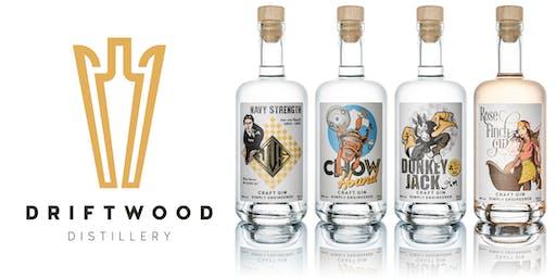 Driftwood Distillery Gin Tasting