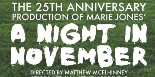 A Night in November by Marie Jones