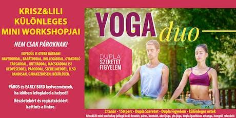 YogaDUO mini workshopok - dupla szeretet és figyelem tickets